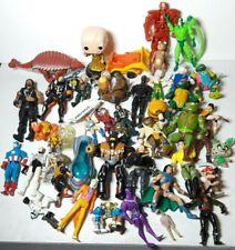 Large Junk Lot of Vintage Modern Boys Toys Action Figures TMNT Superheroes #1