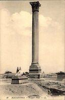 Alexandria Alexándreia Ägypten Egypt AK ~1910 Pompeiussäule Pompei Pilar Säule