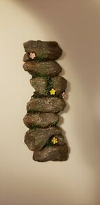 * Fairy Garden  Doll House Mini * Stone Path * Hand Painted * New