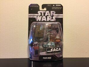 Star Wars Saga Collection #14 Power Droid w/ Treadwell(Battle of Hoth) MOC 2006