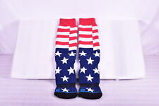 Stance Thick Wool Blend Snowboarding Socks, American Flag, S / M