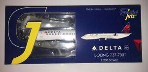 Gemini Jets Plastic - Delta Air Lines Boeing 737-700 - GPDAL001 - 1/200