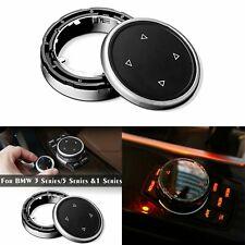 Car Big Multi Media Knob Cover iDrive Button Trim Control For BMW F10 F20 F30
