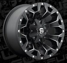 Fuel Assault D546 17x9 6x135/6x5.5 ET-12 Black Wheels Rims (Set of 4)