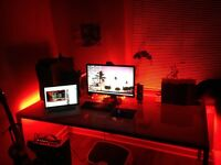 GAMING COMPUTER DESK LED Accent Lighting kit - great GIFT for gamers players NEW