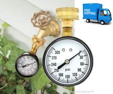 Water Pressure Test Gauge 3/4