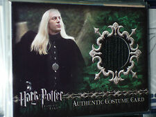 HARRY POTTER AND THE GOBLET OF FIRE ULTRA RARE COSTUME CARD C1 LUCIUS MALFOY GOF