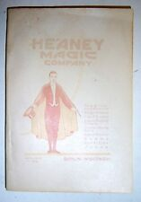 1924 Heaney Magic Company Catalog, Berlin, Wisconsin.