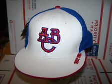 Atlanta Black Crackers Authentic NEGRO LEAGUE FITTED  HAT, 7 3/4 - WHITE  FRONT