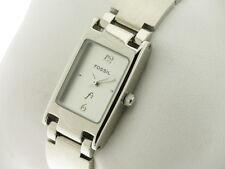 FOSSIL collezione F2 lady quarzo rettangolare quad. silver referenza ES-8677 new