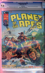 Planet of the Apes #4 CGC NM/MT 9.8 Super Killer