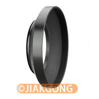 49mm metal wide angle screw in mount lens hood for Canon Nikon