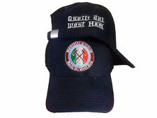 WEST HAM cappello baseball COTONE PESANTE Navy Iron Di Canio MARTELLI D'ITALIA