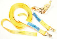 1x Spanngurt 1,5t 8m 25mm EN12195-2:2001 Profi 2-tlg 1500daN 1500kg Zurrgurt