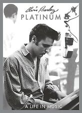 ELVIS PRESLEY - PLATINUM A LIFE IN MUSIC  4 CD NEU