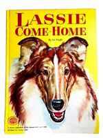 Vintage LASSIE COME HOME Book-Eric Knight-Grosset Grow-Up-Abridged for the Young