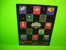 Romstar Revenge Of Doh Vintage 1987 Video Arcade Game Advertising AD Arkanoid