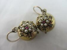 Pearl Earrings Victorian Fine Jewellery