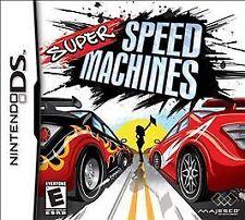Super Speed Machines  (Nintendo DS) Lite Dsi xl 2ds 3ds xl