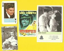 Clark Gable Movie Actor Gone with the Wind Fab Card LOT A It Happened One Night