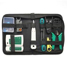 14pcs Ethernet Network Bag Tool Network Lan Cable Crimper Pliers Tools Kit R4L0