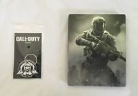 CALL OF DUTY INFINITE WARFARE STEELBOOK & KEYRING PS4 & XBOX ONE (NO GAME) - NEW