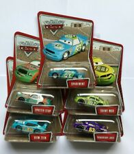 Disney Cars Kmart Collector Day 1  Racers Complete Set of 5  etc !