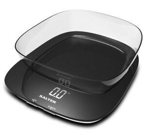 balance de cuisine electronique 20kg - 1g blanc - salter