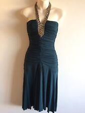 Size 10   KOOKAI  Retro 80's Style  Party Dress  (Free P&P)