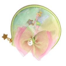 Disney Store Japan Jewelry Accessory Pouch Tinker Bell For Pierced Earrings Star