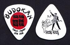 Cheap Trick Rick Nielsen Signature Budokan White Guitar Pick - 2008 Tour