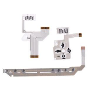3pcs/set Replacement volume keypad flex cable for PSP1000 1001 1 YU_cd