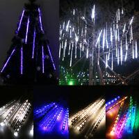 20/30/50cm Meteor Shower Rain LED Fairy Lights String Christmas Tree Party Decor