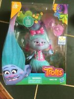Hasbro Dreamworks Chenille Seda Troll Doll. NIB. Exclusive Collectible. 6""