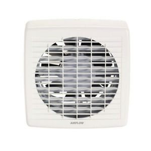 Airflow 7108A 200mm Pullcord Switched Wall Mounted Exhaust Fan