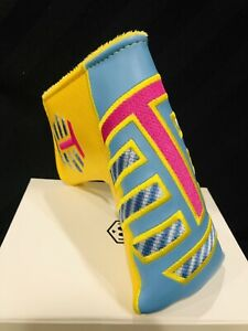 Bettinardi Blue/Yellow T Hive Blade Cover (2020 PGA Show Release))