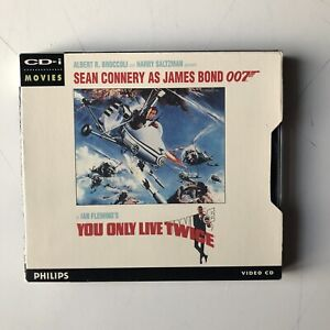 YOU ONLY LIVE TWICE (Sean Connery) (CDI, CD-I, Video CD) CDi-movie Philips