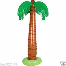 "LUAU Hawaiian Beach Safari Jungle Party Decoration INFLATABLE PALM TREE Prop 34"""