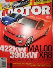 Motor 2008 Mini Cooper S JCW Nissan GTR Supercharged HSV VE Maloo v Ford XR8 Ute