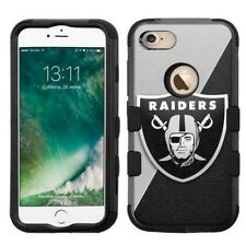 for Apple iPhone 8 Plus Armor Rugged Hard Hybrid Case Oakland Raiders #J