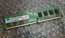 2GB Integral IN 2 T 2 GNWNEI 72-14-81 PC2-5300U 667MHz DDR2 NON-ECC memoria computer