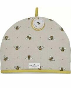 Cooksmart Bee Design 100% Organic Cotton Tea Cosy Perfect Gift.