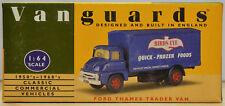 Vanguards by Lledo 1:64 VA6001 Ford Thames Trader Van Birds Eye - Nr Mint in Box