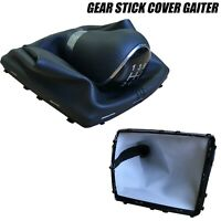 Gear Shift Knob Stick Lever Gaitor Gaiter Cover For Ford Focus MK2 2004-2012