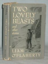 1950 BOOK TWO LOVELY BEASTS AND OTHER STORIES BY LIAM O'FLAHERTY