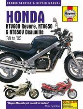 Haynes M3243 Service & Repair Manual for 1988-05 Honda NTV600 / NTV650 / NT650V