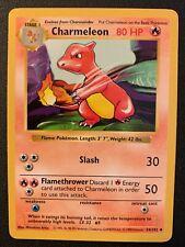 Pokémon SHADOWLESS Base Set Charmeleon Card 24/102 WOTC 1999 Mint/Unplayed