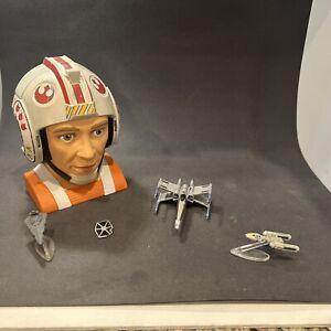 1996 Star Wars Galoob Micro Machines, Luke Playset, incomplete