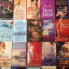 Historical Romance Paperback book Lot, 15 Randomly Selected Books FREE SHIPPING