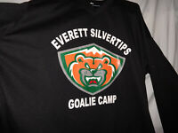 EVERETT SILVERTIPS Authentic Goalie Camp Ice Hockey Jersey WHL